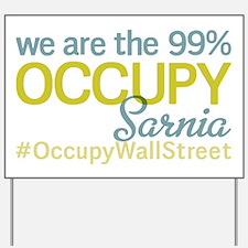 Occupy Sarnia Yard Sign