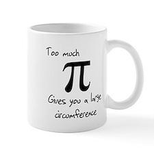 Pi Circumference Small Mug