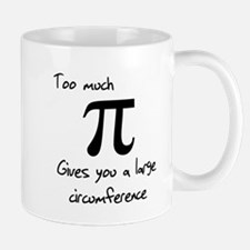 Pi Circumference Small Mugs