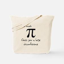 Pi Circumference Tote Bag