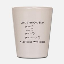 And God Said... Funny Shot Glass