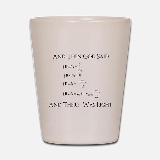 And God Said... Funny Shot Glass