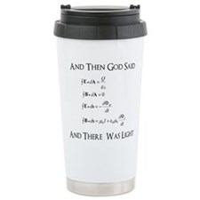 And God Said... Funny Travel Mug