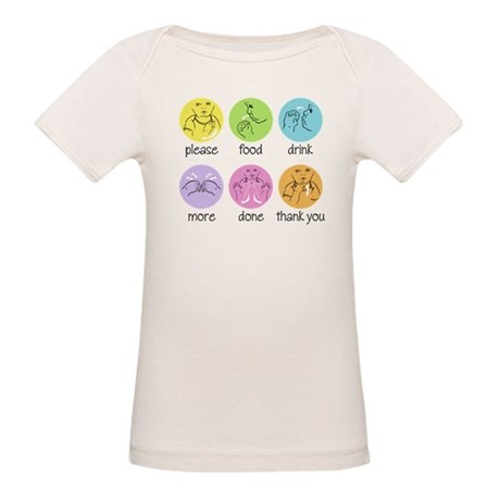 SIGN LANGUAGE Organic Baby T-Shirt