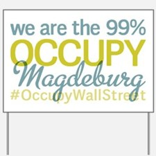 Occupy Magdeburg Yard Sign