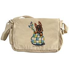 Baby German Shepherd Messenger Bag