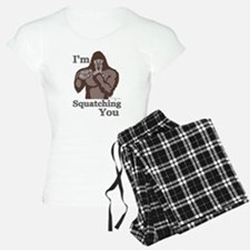 Im-Squatching-You-Brown Pajamas
