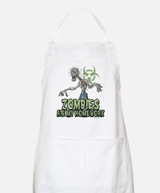 Zombies Ate My Homework Apron