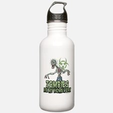 Zombies Ate My Homework Sports Water Bottle