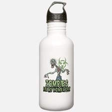 Zombies Ate My Homework Water Bottle