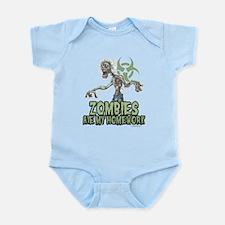 Zombies Ate My Homework Infant Bodysuit