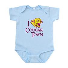 I Love Cougar Town Infant Bodysuit