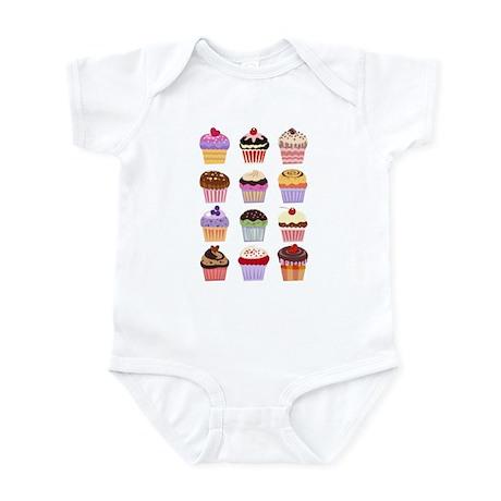 Dozen of Cupcakes Infant Bodysuit