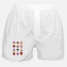 Dozen of Cupcakes Boxer Shorts