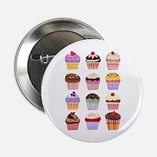 """Dozen of Cupcakes 2.25"""" Button"""