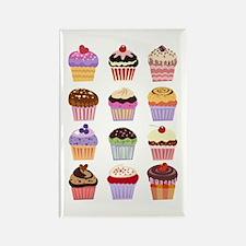 Dozen of Cupcakes Rectangle Magnet