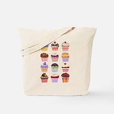 Dozen of Cupcakes Tote Bag