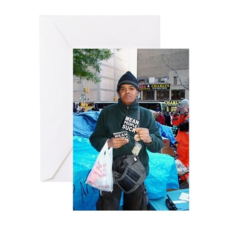 OWS: Truth Hurts Greeting Cards (Pk of 10)
