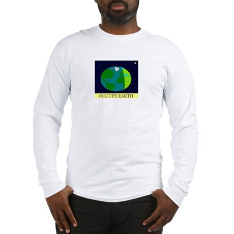 Occupy Earth Long Sleeve T-Shirt