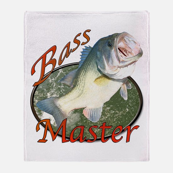 Bass master Throw Blanket