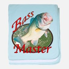 Bass master baby blanket