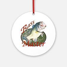 Bass master Ornament (Round)