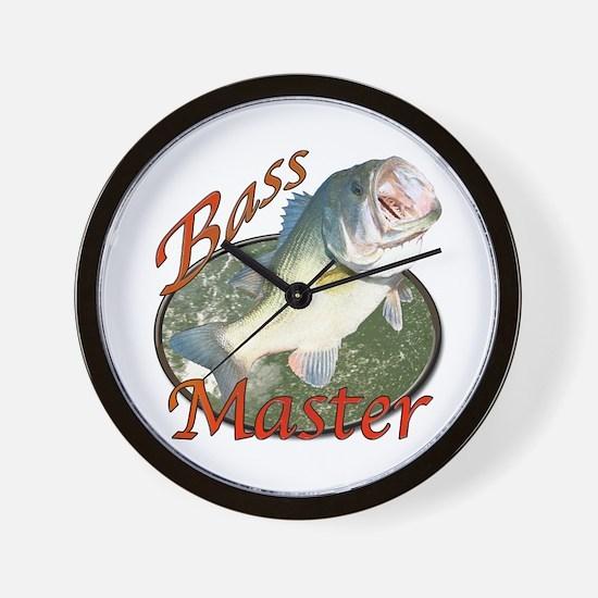 Bass master Wall Clock