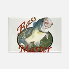Bass master Rectangle Magnet