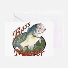 Bass master Greeting Cards (Pk of 10)