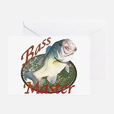 Bass master Greeting Card