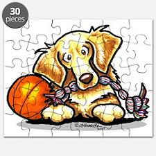 Golden Retriever Player Puzzle