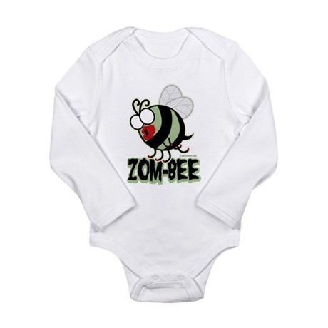 Zom-Bee! Long Sleeve Infant Bodysuit