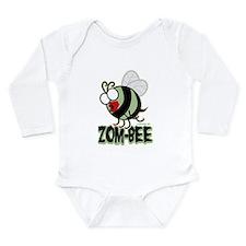 Zom-Bee! Long Sleeve Infant Bodysuit