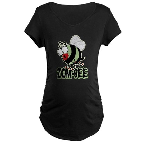 Zom-Bee! Maternity Dark T-Shirt