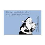 Jew Who Celebrates Christmas Mini Poster Print