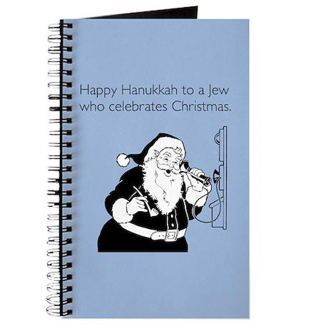 Jew Who Celebrates Christmas Journal