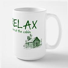 Relax Cabin Cottage Mug