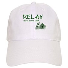 Relax Cabin Cottage Baseball Cap