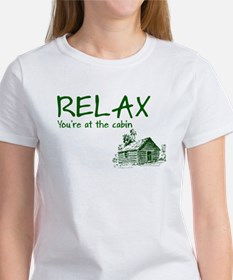Relax Cabin Cottage Women's T-Shirt