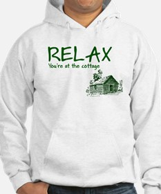 Relax Cabin Cottage Hoodie