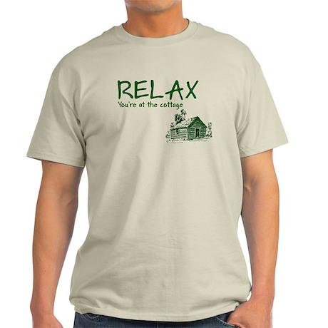 Relax Cabin Cottage Light T-Shirt