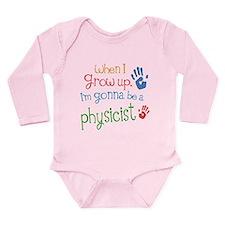 Kids Future Physicist Long Sleeve Infant Bodysuit