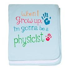 Kids Future Physicist baby blanket