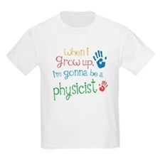 Kids Future Physicist T-Shirt
