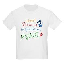 Kids Future Physicist T-Shirt