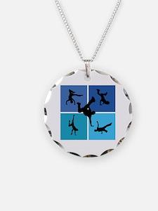 Nice various breakdancing Necklace