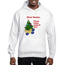 Santa Bring Chips & Beer Hoodie