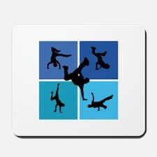 Nice various breakdancing Mousepad