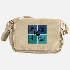 Nice various breakdancing Messenger Bag