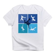 Nice various breakdancing Infant T-Shirt